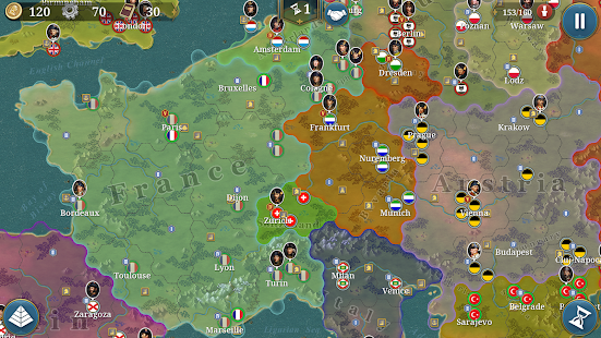 European War 6: 1804 - Napoleon Strategy Game 1.2.28 Screenshots 16