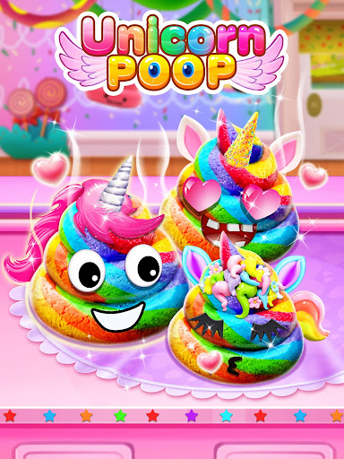 Unicorn Poop - Sweet Trendy Desserts Food Maker 1.6.2 screenshots 8