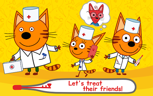 Kid-E-Cats Animal Doctor Games for Kidsu30fbPet Doctor  screenshots 13