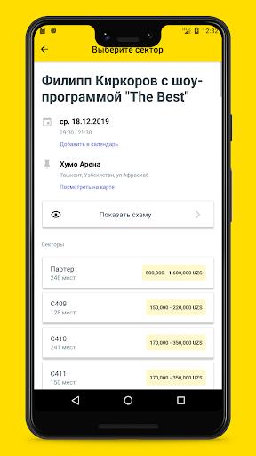 iticket.uz - online ticket sales screenshot 3