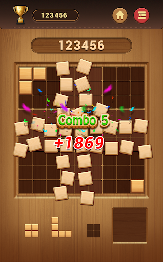 Wood Block Sudoku Game -Classic Free Brain Puzzle 0.6.6 screenshots 14