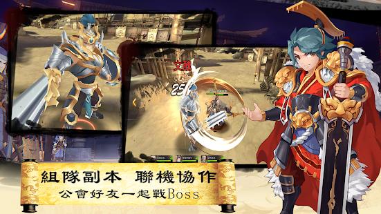 Hack Game 三國英雄傳說 Online - 動漫風無雙格鬥 MMORPG apk free