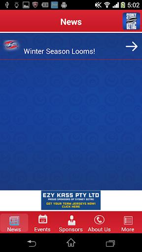 sydney oztag screenshot 3