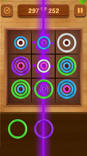 Color Rings - Colorful Puzzle Game 3.4 screenshots 4