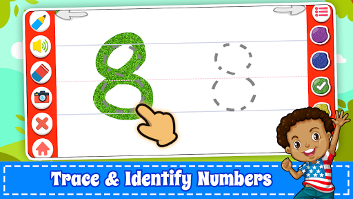Learn Numbers 123 Kids Free Game - Count & Tracing  screenshots 10