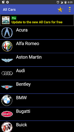 Car Parts & Car Info for Car Accessoriesuff0dAll Cars 8.2.1 Screenshots 1