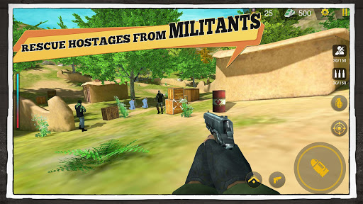 Yalghaar: Delta IGI Commando Adventure Mobile Game apkslow screenshots 2