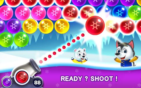 Bubble Shooter MOD APK- Frozen Pop (Unlimited Lives) Download 2