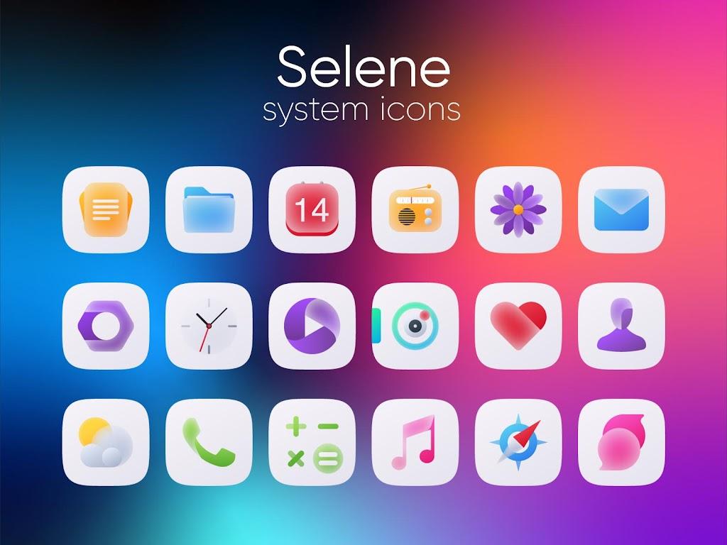 Selene Icon Pack  poster 1