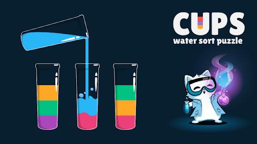 Cups - Water Sort Puzzle screenshots 22