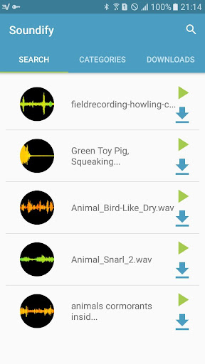 Soundify - Free music effects download sounds screenshots 2