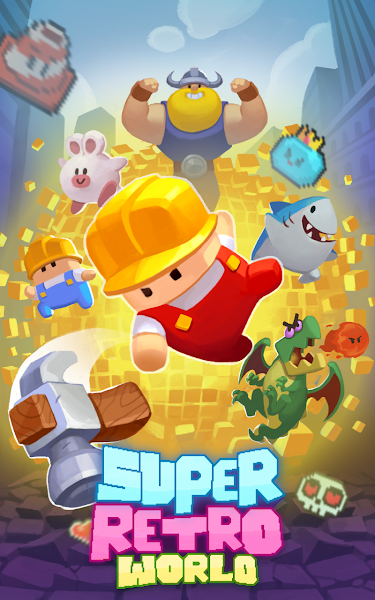 Super Retro World : Pixel Art Maker