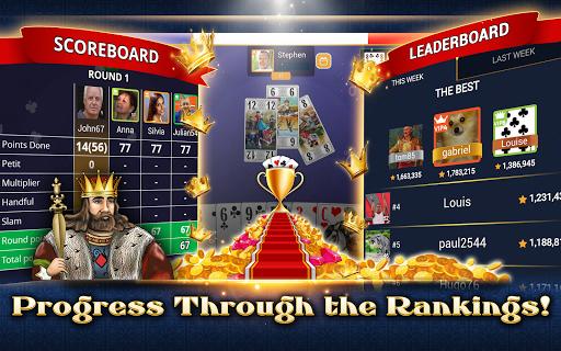 VIP Tarot - Free French Tarot Online Card Game 3.7.4.26 screenshots 14