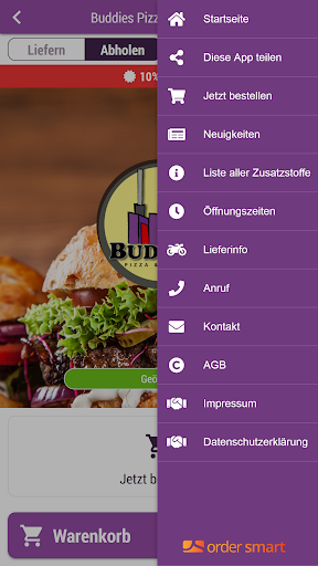 Buddies Pizza und Burger 3.1.0 screenshots 3