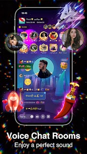 Sango –  Free Live Group Voice Chat Rooms For Android 2