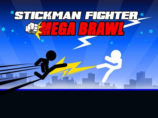 Stickman Fighter : Mega Brawl (stick fight game) 21 screenshots 3