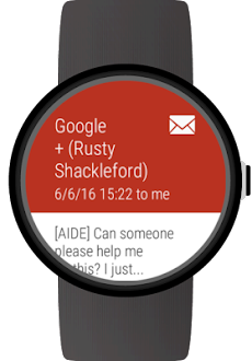 Mail client for Wear OS watchesのおすすめ画像3