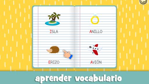 Aprender las vocales para niu00f1os de 3 a 5 au00f1os screenshots 7