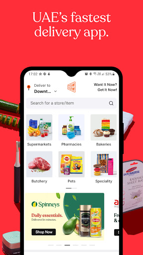 NowNow by noon: Grocery & more  screenshots 1