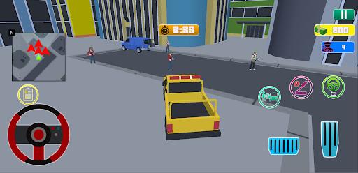 Grand City Theft War: Polygon Open World Crime 2.1.4 screenshots 8