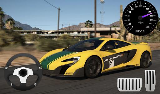 Race Car McLaren P1 Parking screenshots 1