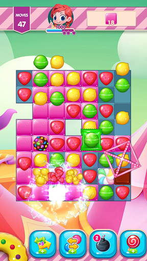 Sweet Candy Sugar: Match 3 Puzzle 2020 APK MOD – Monnaie Illimitées (Astuce) screenshots hack proof 1