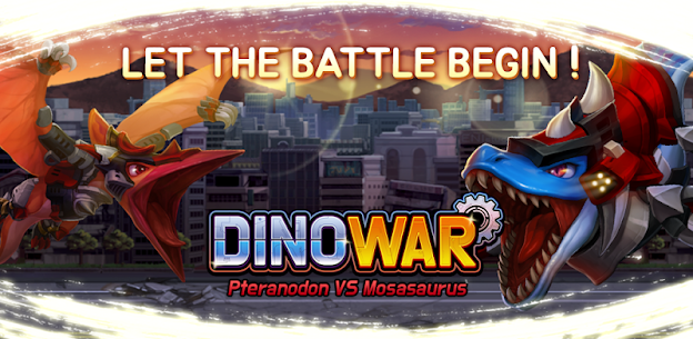 Dino War Pteranodon VS Mosa Hack for iOS and Android 1