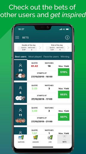 BetMines Free Football Betting Tips & Predictions 2.3 Screenshots 7