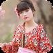 Japanese Kimono Photo Montage