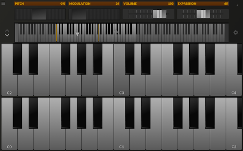 TouchDAW Screenshot