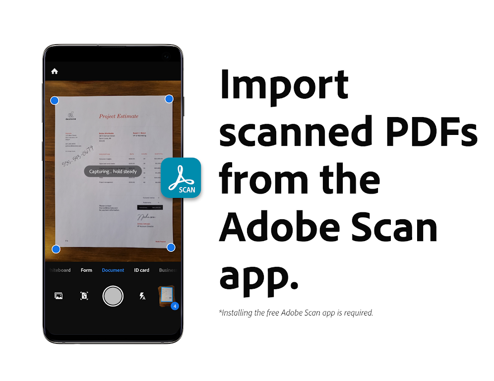 Adobe Acrobat Reader: Edit PDF poster 2