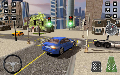 3D Driving School Simulator: City Driving Games 1.6 Screenshots 4