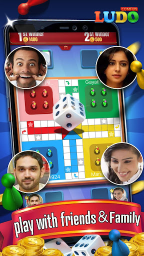 Ludo Comfun-Online Game Live Chat With Friends screenshots 1