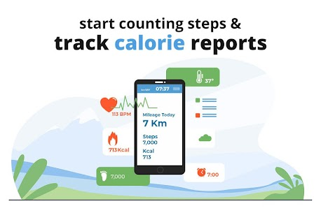 Step Counter: Pedometer, Heartbeat, Water Reminder Full Apk Download 4