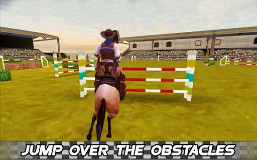 Derby horse Riding Finish Quest Race Jump 1.0 screenshots 2
