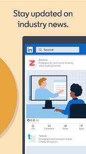 LinkedIn:求人、ビジネスニュース、ソーシャルネットワーキング