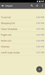 screenshot of Inkpad Notepad & To do list