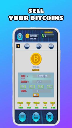 Crypto Mining : Free Bitcoin Machine Simulator  screenshots 2