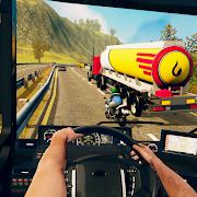 Flying Oil Tanker Transporter Truck Simulator Game