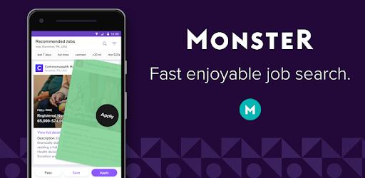 Monster Job App