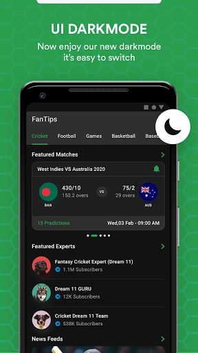 FanTips : Prediction Tips Experts for Dream11  screenshots 18