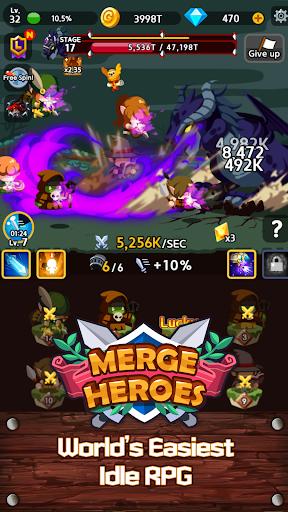 Merge Heroes Frontier: Casual RPG Online 3.3.0 screenshots 17