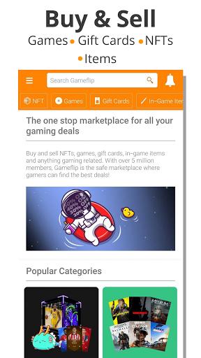 Gameflip: Buy & Sell Games, Game Items, Gift Cards apktram screenshots 1