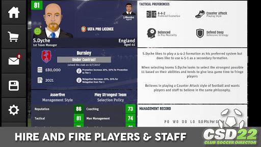 Club Soccer Director 2022  screenshots 22