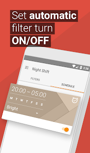 Blue Light Filter & Night Mode - Night Shift 4.03.1 Screenshots 4