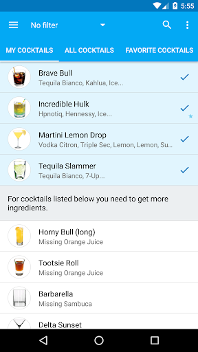 My Cocktail Bar 2.2.4 Screenshots 2