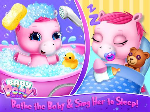 Baby Pony Sisters - Virtual Pet Care & Horse Nanny 5.0.14007 screenshots 9