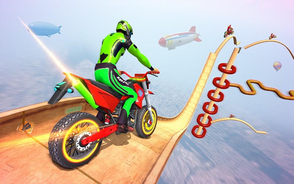 Impossible Tracks Bike Race Motorcycle Stunts screenshot 8