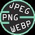 JPEG > PNG Converter: BMP, GIF, JPG, WEBP