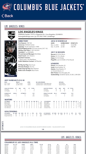 Columbus Blue Jackets Interactive Media Guide For PC Windows (7, 8, 10, 10X) & Mac Computer Image Number- 9